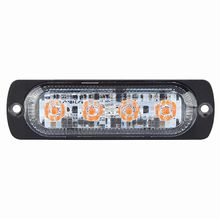 R10 High Intensity 4 Amber LED Warning Light (19 flash patterns)  *SPECIAL OFFER £12.50!*