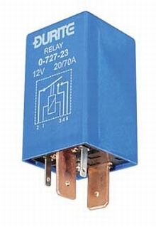 12V Double Contact Make/Break Relay - 70/20A