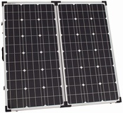 100W 12V folding solar charging kit for camper, caravan, boat or any other 12V system - German solar cells  £165.99