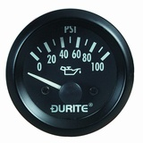 0-523-17 Oil Pressure Gauge with Sender 52mm - 12V