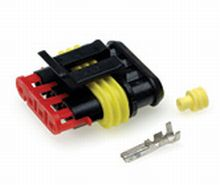 4 way Female Superseal Connector - Qty 1  *FROM £1.70 EACH!*   CLICK HERE FOR MORE DISCOUNTS!