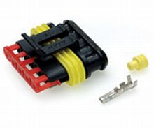 5 way Female Superseal Connector - Qty 1  *FROM £2.30 EACH!*   CLICK HERE FOR MORE DISCOUNTS!