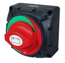Durite Rotary Marine Battery Isolator with Fixed Control Knob in Off Position - 300A 48V.