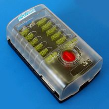 Fuse Box 12 pole Blade Fuse Type - 2 positive + 1 negative circuit.  *was £27.95*   **SPECIAL OFFER £23.95!**