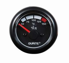 Marine 12/24 volt Oil Temperature Gauge